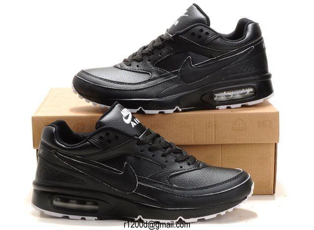 air max bw hommes cuir noir
