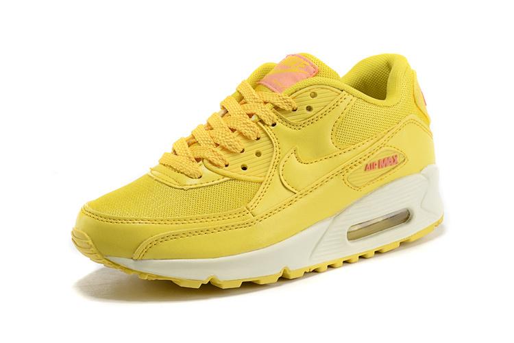 air max femmes 90 jaune
