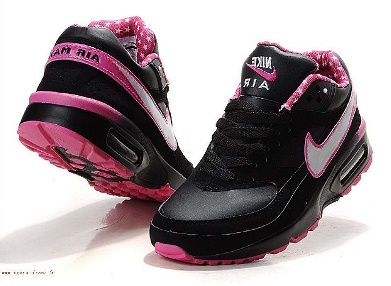 air max femme rose et noir